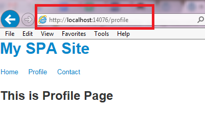 AngularJS Routing : Part 2 – make # (Hash) invisible from