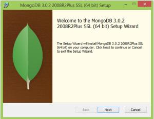 Mongo Install Starts